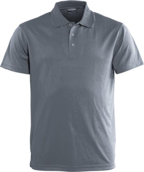 gREY bREEZEWAY Polo shirt, Micro mesh