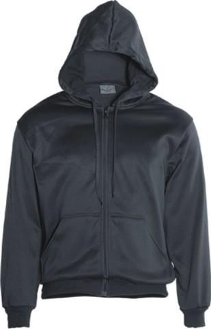 Charcoal Zip Hoodie