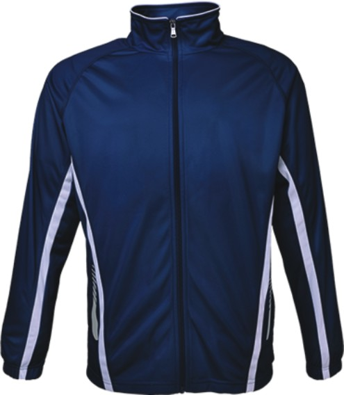 Navy / White Elite Track Jacket
