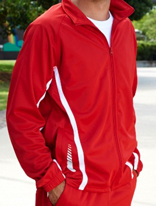 Elite training track jacket