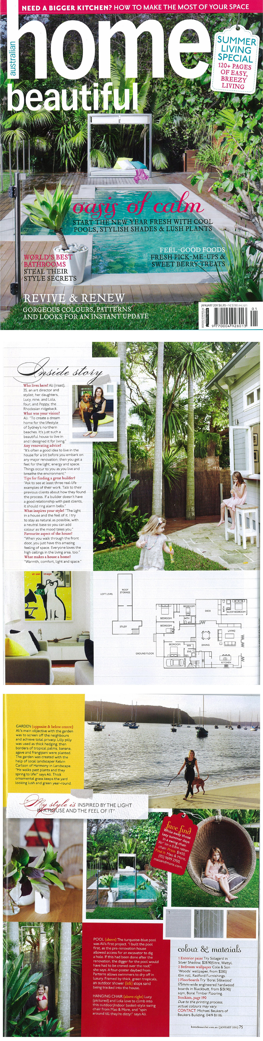 Harmony in landscape magazine articles backyard and garden for Home design ideas articles