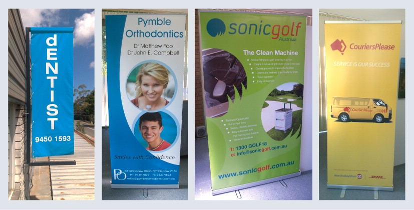 Pull Up Banners printing Northern Beaches