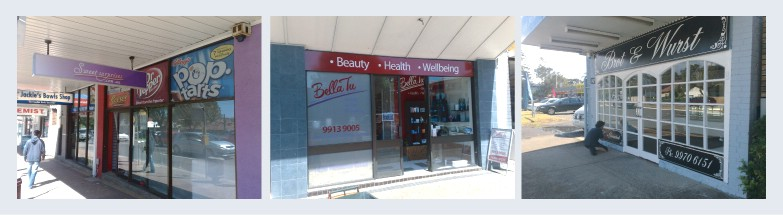Northern Beaches Shop Front Signs Mona Vale Signwriters