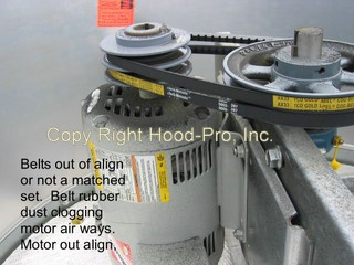 Why is my kitchen hot hood pro inc for Restaurant exhaust fan motor