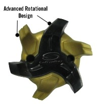 Click to Enlarge - Cleats-Softspikes CYCLONE FAST TWIST CLEATS Walkerden Golf Australia