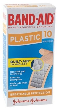 Click to Enlarge - Sunscreen, Insect Repel.. BAND-AID PLASTIC DRESSING STRIPS Walkerden Golf Australia