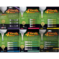 "Click to Enlarge - New Products, Tees ""4 YARDS MORE"" GOLF TEES Walkerden Golf Australia"