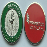 Click to Enlarge - Accessories CUSTOM LOGO DOUBLE SIDED BALL MARKER Walkerden Golf Australia