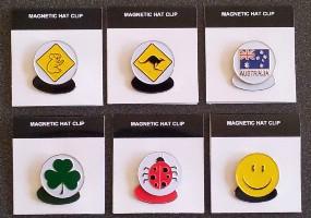 Click to Enlarge -  MAGNETIC HAT CLIP Walkerden Golf Australia