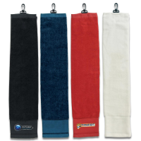 Click to Enlarge - Accessories, Towels COTTON GOLF GOLF TOWEL WITH CLIP Walkerden Golf Australia