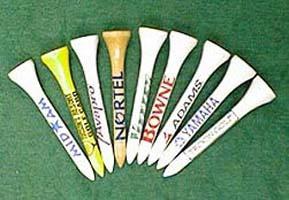 Click to Enlarge - Tees PRINT QUALITY U.S. WOOD TEES 10000 Walkerden Golf Australia