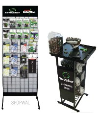 Click to Enlarge - Shoe Accessories, Laces.. SOFTSPIKES POINT OF SALE DISPLAY Walkerden Golf Australia