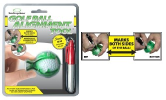 Click to Enlarge -  SOFTSPIKES GOLF BALL ALIGNMENT TOOL Walkerden Golf Australia
