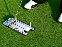 Click to Enlarge - Training Aids EYELINE GOLF PUTTING ALIGNMENT MIRROR Walkerden Golf Australia