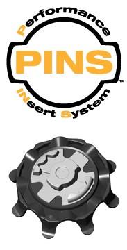 "Click to Enlarge -  ""PINS"" INSERT SYSTEM PULSAR CLEATS Walkerden Golf Australia"