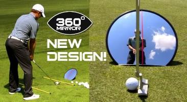 Click to Enlarge - Training Aids EYELINE GOLF 360 MIRROR Walkerden Golf Australia