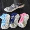 Footlets / Socks, Ladie.. LADIES TECHNICAL SOCK. TWO TONE DESIGN Walkerden Golf Australia