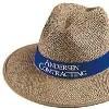 Headwear, Hats ECONOMY SAFARI STRAW. CLOTH LINING Walkerden Golf Australia