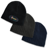 Headwear, Caps & Visors KNITTED CABLE KNIT ACRYLIC BEANIE Walkerden Golf Australia