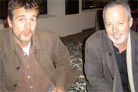 Hanging out with Mark Billingham in Melbourne (August 2008)