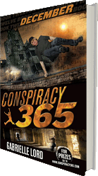 Conspiracy 365 December - the novel series by Australian author Gabrielle Lord