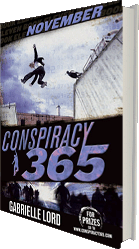 Conspiracy 365 November - the novel series by Australian author Gabrielle Lord