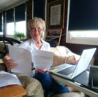 Gabrielle Lord writing