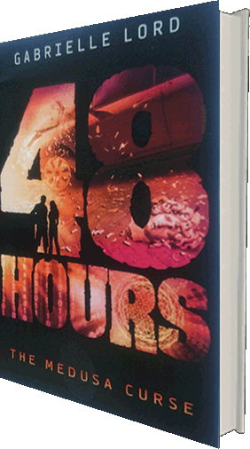 48 Hours The Medusa Curse - the crime novel by Gabrielle Lord